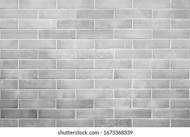 old vintage gray brick wall texture background