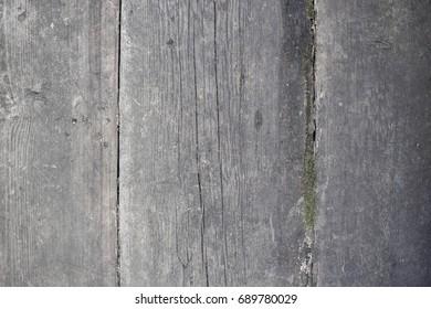 Old vintage gray wooden background