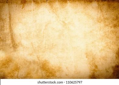 Old vintage grunge parchment brown