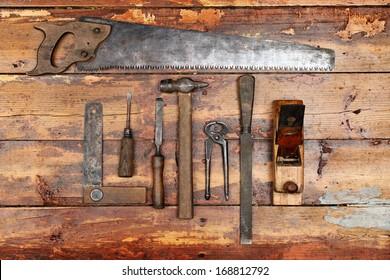 Vintage Tools Images, Stock Photos & Vectors | Shutterstock