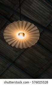 The old vintage lamp