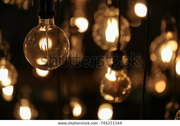 Old vintage lighting decor