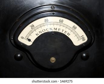 Old vintage mechanical dial
