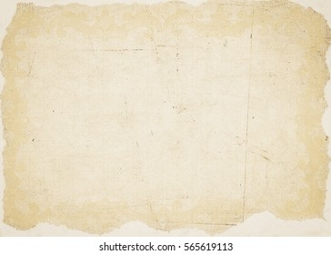 Old vintage paper background. Paper texture.