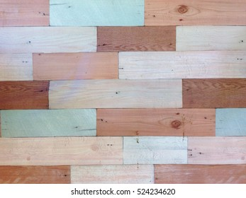 Old vintage pastel wood wall texture background