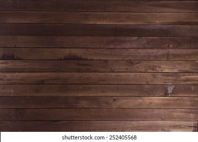 Old Vintage Planked Wood Texture Background. Top View of Rustic Wooden Wall Surface. Copy Space for Text or image.