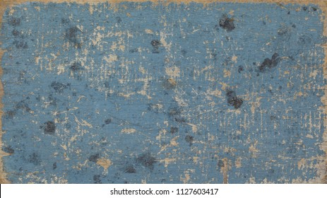 old vintage scratch blue grey, gray painted and natural wood texture background, used, beach style, summer concept, theme, design, trend