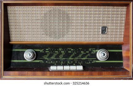 Old vintage style radio