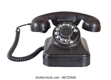 Old Fashioned Telephone Images, Stock Photos & Vectors