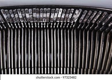 Old, vintage typewriter
