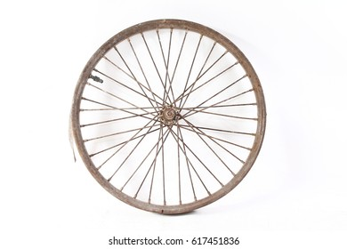 old vintage wheel