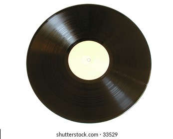 Old vinyl record (LP)