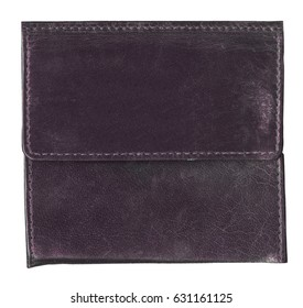 old violet leather background,seams
