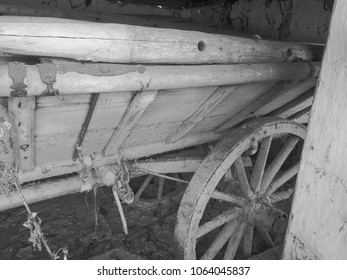 old Waggon in a old House