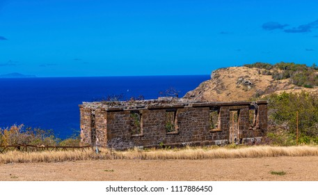 Old Wall Above Sea