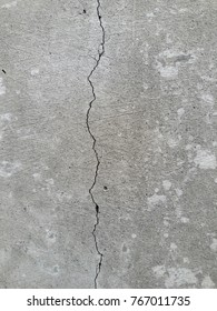 old wall crack