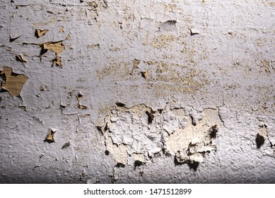 Old wall with cracked paint painting dirty texture background