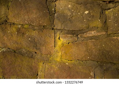 old wall, stone, slightly weathered, vintage