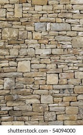 old wall in stones closeup