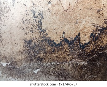 old wall texture covered by dirt