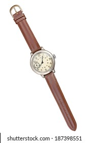 Old watches isolated. Clipping path included/