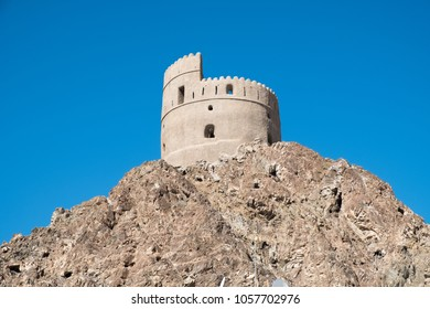 Old watchtower in Ras al Khaimah, United Arab Emirates