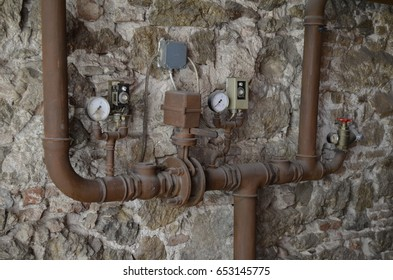 old water and gas meters