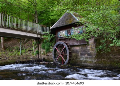Old water mill in the Black Forest
