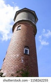Old water tower from 1922 on the island Bornholm.Denmark