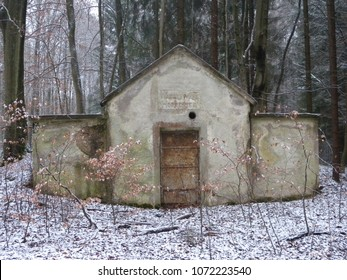Old water works in Westerwald (Germany)