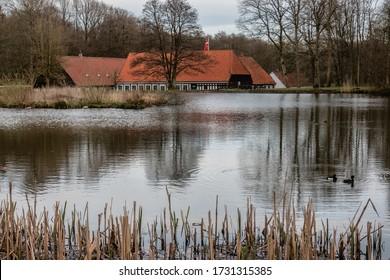 Old watermill in Boerkop, Denmark