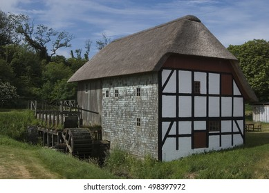 OLD WATERMILL Old watermill in Denmark