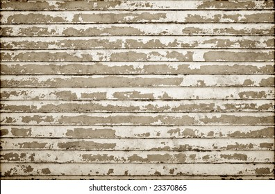 old weatherboard wooden wall all the paint peeling