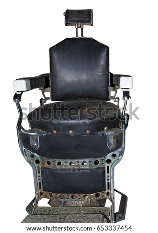Old weathered 1918 antique Barber Chair  sc 1 st  Shutterstock & Old Weathered 1918 Antique Barber Chair Stock Photo (Edit Now ...