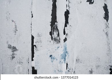 old weathered abstract rugged torn street poster background