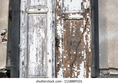 old weathered doors