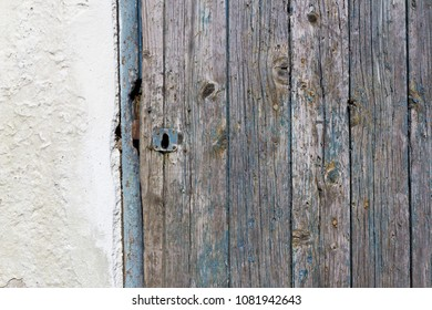 Old weathered natural wood panels