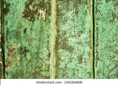 old weathered oxidated metal pattern