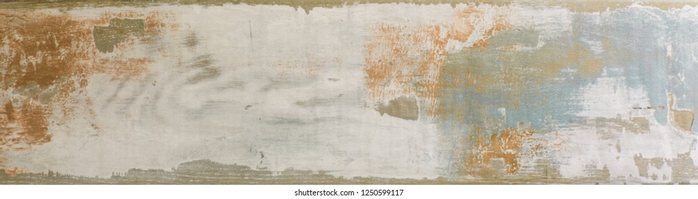 old weathered scratched peel off wood background, vintage barn wall