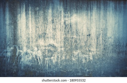 Old, weathered, stained wall. Grunge background.