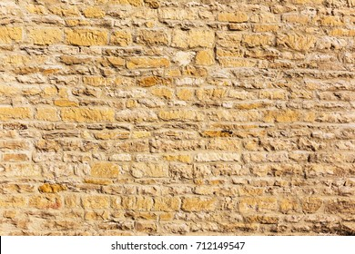 old weathered stone brick wall, good for background