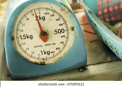 old weight scale