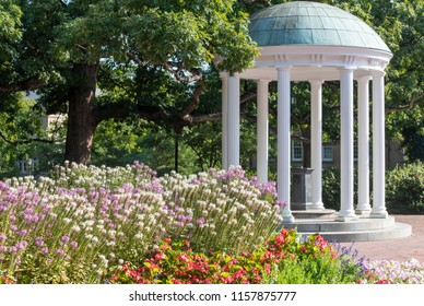 The Old Well at the University of North Carolina in Chapel Hill