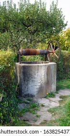 The old well, if you put in the money, fulfills your wishes