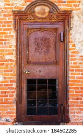 Old West Ghost Town Jailhouse Rusted Patina Door