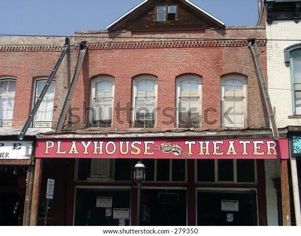 Old West Shop Virginia City Reno Stock Photo Edit Now 279350