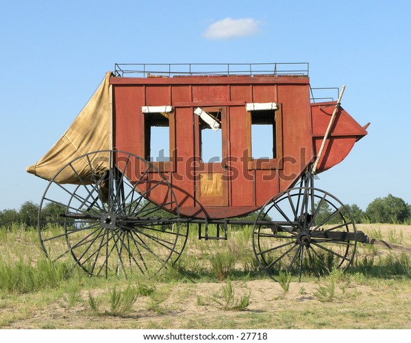Old West Stage Coach