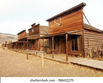 Old west, Old trail town, Cody, Wyoming, United States