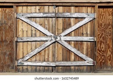 old west western double barn doors