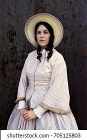 old western vintage woman